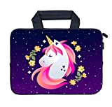 AMARY 11.6' 12' 12.1' 12.5 inch Laptop Handle Bag Neoprene Notebook Carrying Pouch Chromebook Sleeve Ultrabook Case Tablet Cover Fit Apple MacBook Air HP DELL Lenovo Asus Samsung (Unicorn)