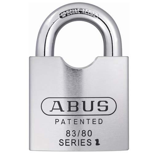 Abus 83/80-410 S2, 83842 83 Series Steel Corbin L4 Keyway Padlock (Pack of 2 pcs)