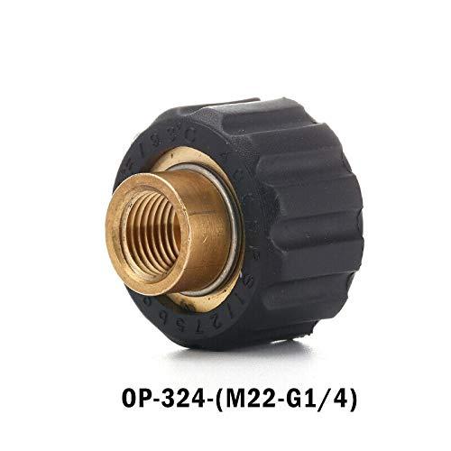 Adattatore per idropulitrice SENRISE Pressione Quick Plug Ottone Filettatura Interna Connettore A Sgancio Rapido per Auto Pistola a Spruzzo