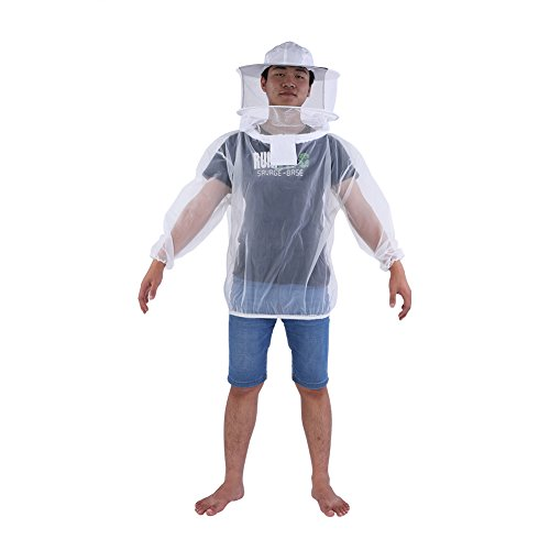 Cocoarm Imkerjacke mit Hut Schleier Bienenanzug Sch¨¹tzende Bienenschutz Imker Schutzanzug Bienenzucht Anzug Imkerbekleidung