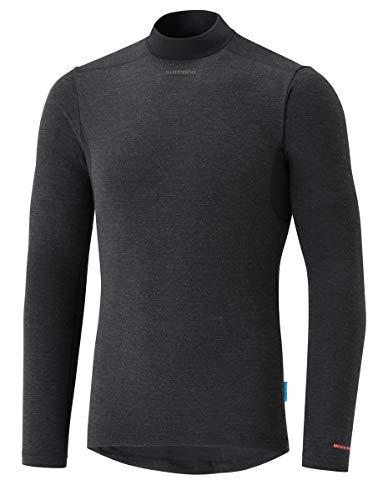 SHIMANO Camiseta Interior SH Transpir Neg T-M, Unisex Adulto