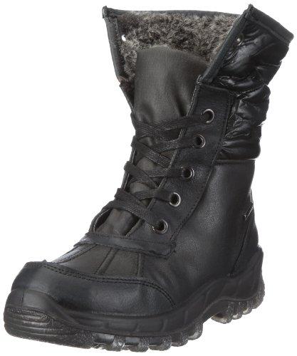 Romika Damen Polar 90 Stiefel, Schwarz/schwarz-grau, 44 EU