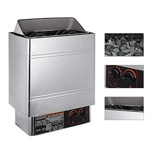 Estufa Eléctrica para Sauna 3KW/60KW/9KW Calentador de Sauna 220V-240V Sauna Stove...