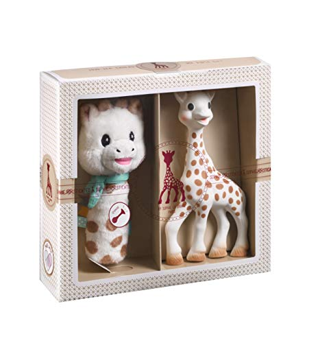 Sophie la Girafe Coffret Naissance Sophiesticated Hochet Pouet 000012
