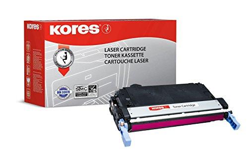 Kores Tonerkartuschen für Modell Color Laserjet 4730, 12000 Seiten, rot