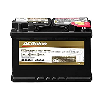 ACDelco 48 AGM Professional Automotive BCI Group 48 Battery