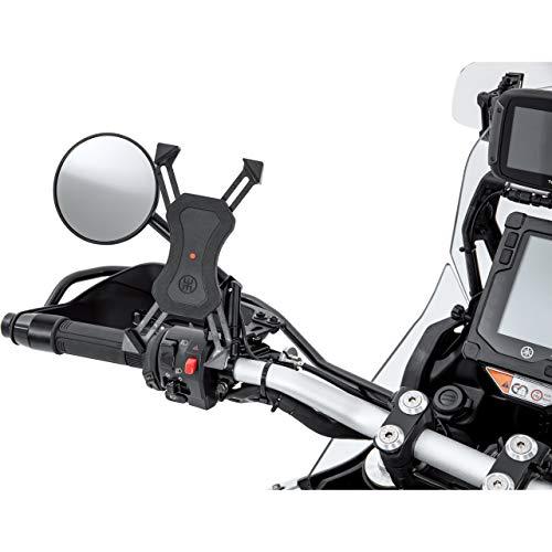Hashiru Motorrad-Navigationsgeräthalterung Universal Smartphone-Halter mit Ladefunktion, Unisex, Multipurpose, Ganzjährig, Kunststoff