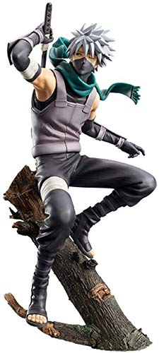 TQGG Action-Figur Naruto Shippuden Rachel Dunkler Hatake Kakashi Animierte Figur Modell Statue A