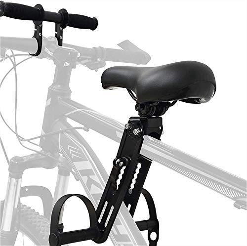 ZGKJ Asiento De Bicicleta para Niños Y Accesorios para Manillar, Asientos De Bicicleta De Montaña De Montaje Frontal para Niños De 2 A 5 Años (hasta 48 Libras) Compatibles con Todos Los MTB Adultos