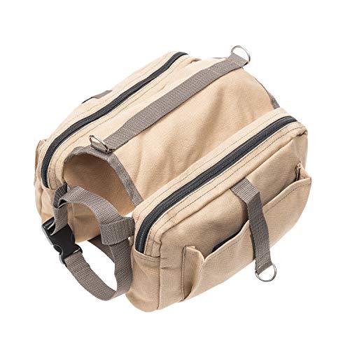 AEXYA Rucksack für Hunde, leicht, zum Wandern, Camping, Einkaufen, Spazierengehen mit Ihrem Haustier – für mittelgroße und große Hunde