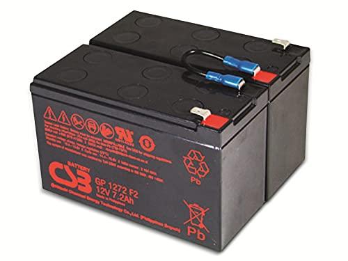 CSB Batería de repuesto USV RBC5 RBC 5 compatible con APC Smart UPS SU450INET SU600 SU700 SU700iNET SU700BX120 SU700X93 Dell DL700 UPS