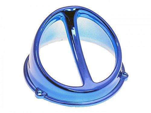 Ventilateur Chromé Spoiler Air Scoop Bleu – Universel