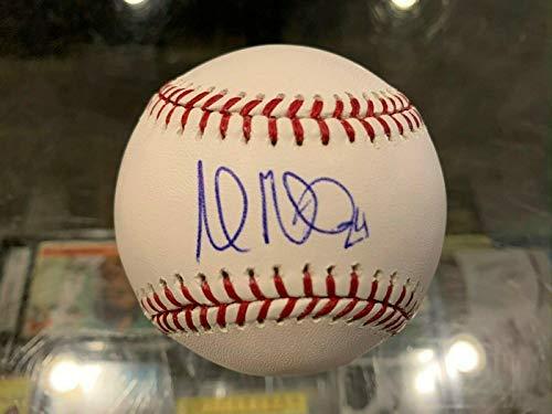 Andrew Miller Indians Cardinals Single Signed Baseball Jsa Ff64635 - Autographed Baseballs