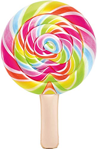 "Toyland Galleggiante da Piscina Giant Lollipop - 2.08 m x 1.35 m (82 ""x 53\"") Summer Beach & Pool Lilo"