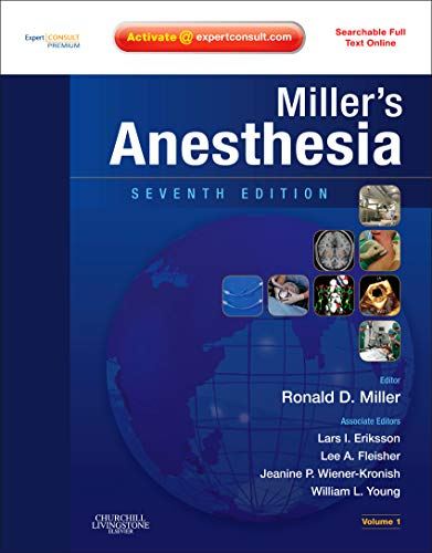 Miller's Anesthesia: Expert Consult Premium Edition - Enhanced Online Features and Print, 2-Volume Set (Anesthesia (Mill