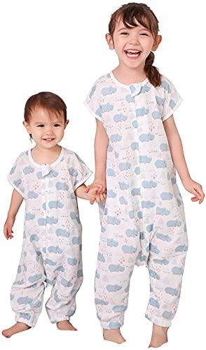 TADO MUSLIN Organic Cotton Toddler Sleep Sack 2-4 T, Baby Wearable Blanket with Legs, Sleep Bag for Bid Kid in Summer