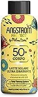 Angstrom Protect Latte Solare Ultra Idratante, Protezione Solare 50+ con Azione Nutriente, Migliora la Naturale...