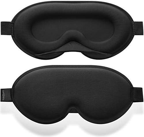Unimi 2020 Sleep Eye Mask for Women Men Memory Form Sleep Mask 3D Contoured Cup Eye Mask Light product image