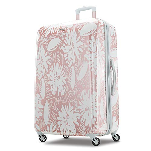 American Tourister Checked-Medium, Ascending Gardens Rose Gold