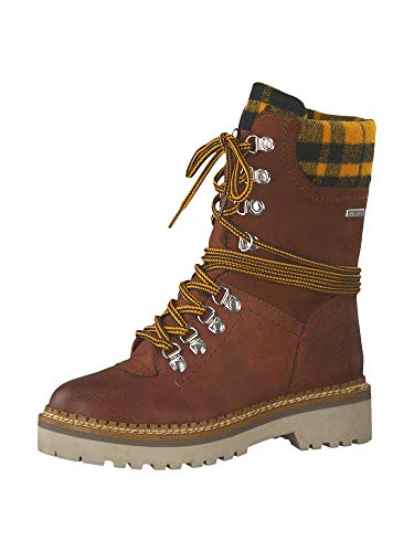 Tamaris 1-26982-33 Damen Stiefel Stiefeletten Warmfutter, Schuhgröße:40 EU, Farbe:Braun