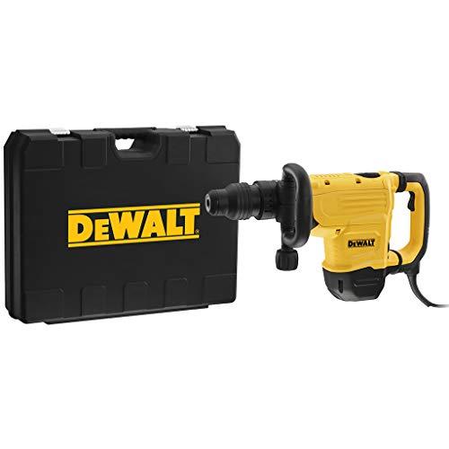 DEWALT D25872K-QS D25872K-QS-Martillo Demoledor 8kg 1600W-13,3J-SDS-MAX Electrónico AVC y maletín, 1600 W, Schwarz/Gelb, schwarz/gelb