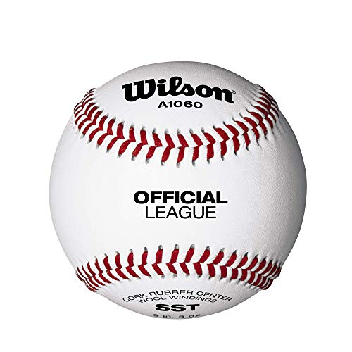 Wilson Practice and Soft Compression Baseballs, A1060, RS (EIN Dutzend)