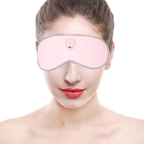 Fine Eye Patch, Muskelspannung Augen Ermüdung Mikrofrequenz Vibrationen Seide Schlafmaske aus Samt