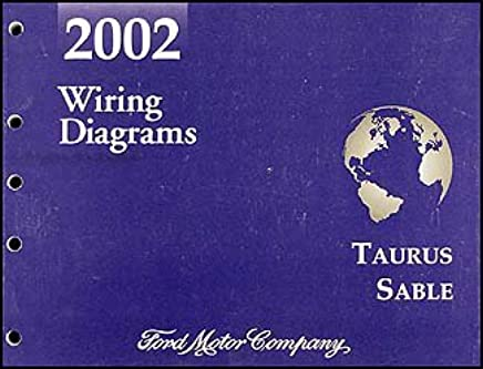 2002 Ford Taurus & Mercury Sable Wiring Diagram Manual ...  Ford Taurus Ac Wiring Diagram on