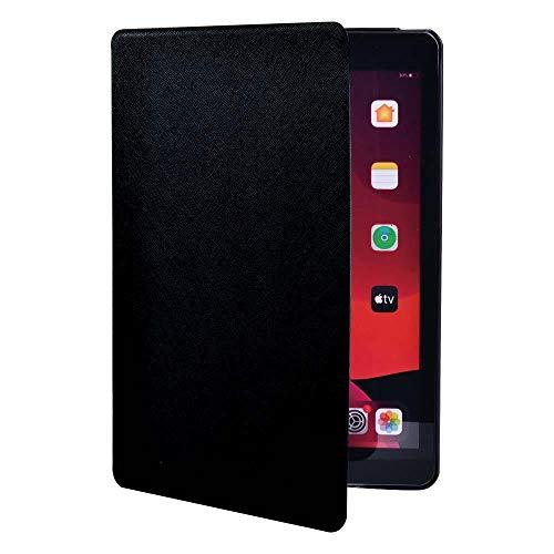 Slim Shockproof Tablet Case For Ap Ipad2 3 4 /Ipad Mini 1 2 3 4 5/Ipad Air 1 2 3/Ipad Pro Pu Leather Case+Pen (Color : Black, Size : IPad Air3 Pro 10.5)