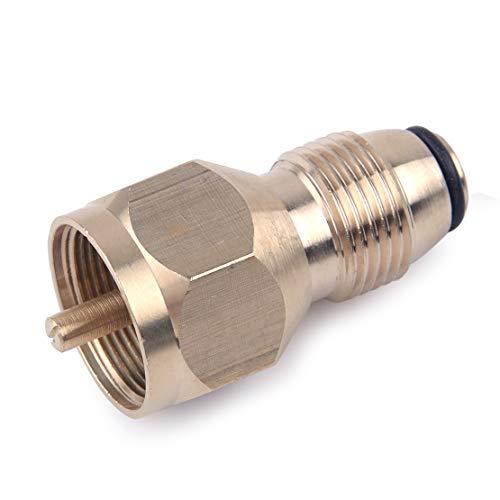 LETAOSK convierte la válvula de servicio POL de propano LP en adaptador a QCC
