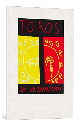 Kunst für Alle Cuadro en Lienzo: Pablo Picasso Toros En Vallauris 1955