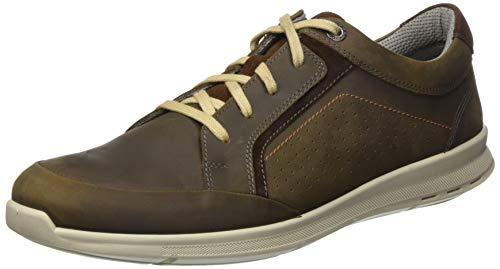 Jomos Herren Rogato Sneaker, Grau (Asphalt/Choco 147-2060), 47 EU