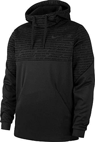 Nike Therma Giacca, Negro/Gris Oscuro, M Uomo