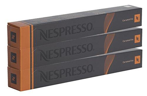 Nespresso Variations Caramel Crème Brulee, Caramelito, 30 Kapseln