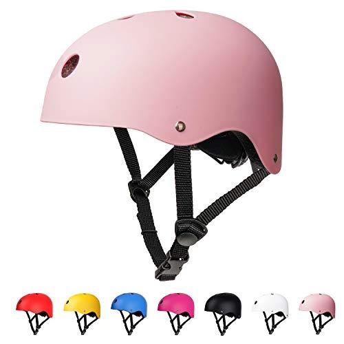 arteesol Fahrradhelm, Unisex Jugend Kinder Fahrradhelm (pink)