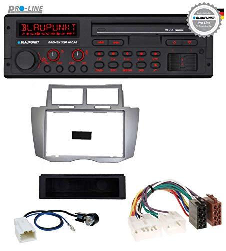 caraudio24 Blaupunkt Bremen SQR 46 DAB SD MP3 USB Bluetooth DAB Autoradio für Toyota Yaris (2007-2011)