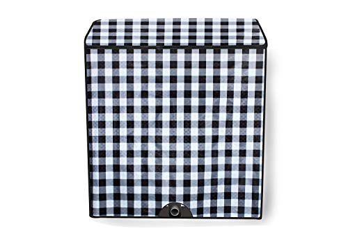 Stylista Washing Machine Cover Compatible for Whirlpool 8 Kg Semi-Automatic Top Load ACE 8.0 Turbo Dry Multi