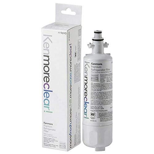 Kеnmorе 9690 Refrigerator Water Filter 469690 LT700P Replacement Refrigerator Water Filter, Clear 1 Pack