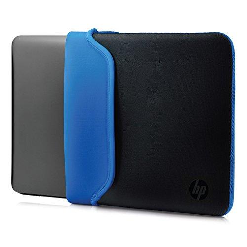 HP Sleeve (V5C31AA) Schutzhülle für Laptops, Tablets (Neopren, 15,6 Zoll) schwarz /blau