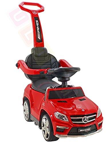 Coche correpasillos infantil, 4 en 1, Mercedes-Benz GL63 AMG (licencia)