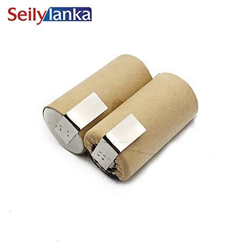 Seilylanka 3000mAh per Black Decker 2.4V Ni MH Batteria pacchetto CD aspirapolvere V2401 HC410-H1 9505-7 per auto-installazione