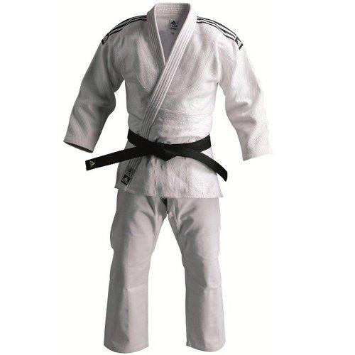 adidas Champion Judo Gi IJF 150 Bianco