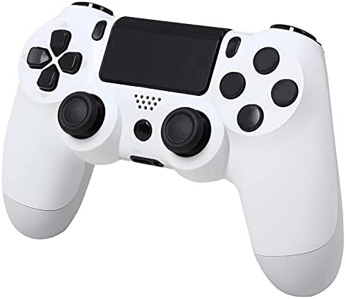 Game Controller for PS4 Controller,Wireless Pro Remote Control Gamepad,with Audio Function Touch Panel USB Cable Scuffed Controllers,Compatible PS4/PS4 Pro/PS4 Slim