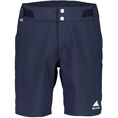 Maloja Herren Shorts Denverm, Blau (mountain lake 8139), Gr. L
