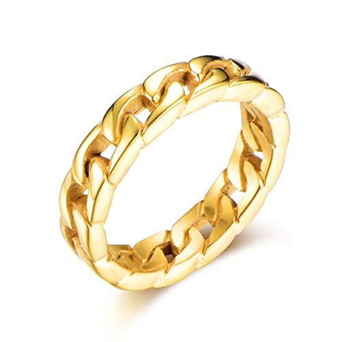 De 9 quilates de oro amarillo 5mm saltar anillo la fabricación de joyas