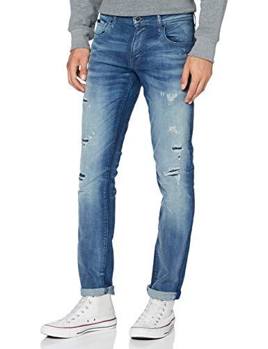 Antony Morato Herren Geezer-Power Stretch Slim Jeans, Blau (BLU Denim 7010), 46 (Herstellergröße: 38)