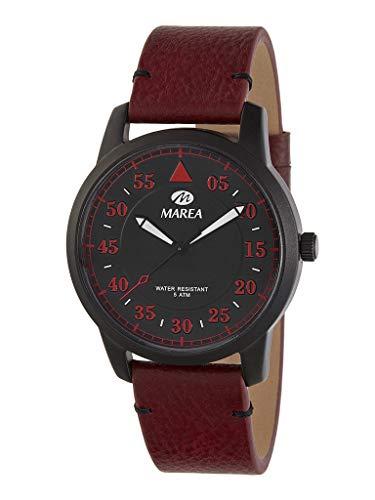 Reloj Caballero Marea Trendy. Cuero Burdeos B54151/4