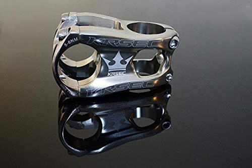 m-bikeparts Feathery Carbon - Attacco manubrio per bicicletta, argento, 50 mm, 160 g