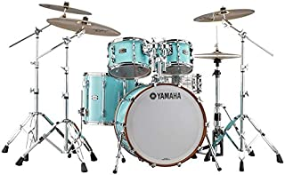Yamaha Recording Custom 4-Piece Shell Pack with 20 Inches Bass Drum - Surf Green