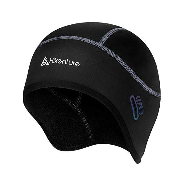Hikenture Skull Cap Helmet Liner with Glasses Holes, Winter Thermal Cycling Cap for...